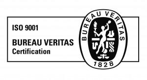 B&W logo 9001